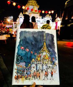 Suppachai V. (@lllouis) в Instagram: «Temple of the Golden Buddha(Wat Trimitr)🌟 #aquarell #art #painting #watercolor #watercolour #sketch #paint #drawing #sketching #sketchbook #travelbook #archisketcher #sketchaday #sketchwalker #sketchcollector #traveldiary #topcreator #usk #urbansketch #urbansketchers #скетчбук #скетч #скетчинг #pleinair #aquarelle #watercolorsketch #usk #architecture #painting #illustration