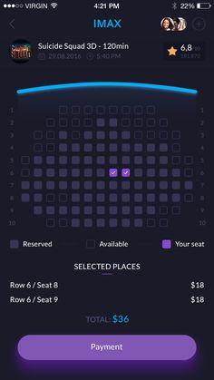 Movie Ticket Reservation – iOSUp