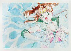 Художественные работы/by ash/anime art sailor moon illustrat Sailor Jupiter, Sailor Moons, Sailor Moon Art, Sailor Moon Crystal, Star Wars Books, Moon Illustration, Disney Sketches, Sailor Scouts, Disney Fan Art