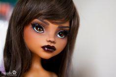 Luna is a customized Monster High Clawdeen Wolf doll