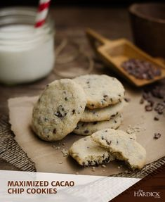 DrHardick.com | Maximized Cacao Chip Cookies | http://drhardick.com