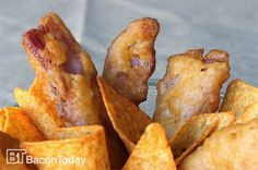 Behold The Deep Fried Doritos Beer Battered Bacon Strips | FoodGasms Recipes