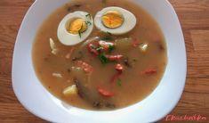 Žurek - eKucharka.cz Eggs, Breakfast, Food, Morning Coffee, Egg, Meals, Egg As Food, Morning Breakfast