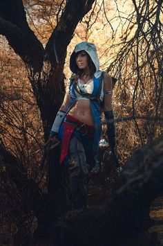 Assassin's Creed 3: Fem Conner by Jessica Nigri #cosplay #crossplay