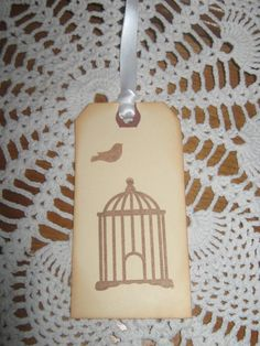 Vintage Hand Made Gift Tags Hang Tags Wish by RubysPlaceInTime, $4.50