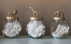 Oh So Lovely: Super fun bathroom storage However, the website also gives ideas on how to use this as party favors, etc. What a wonderful idea!
