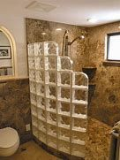 Bathroom Elegant Granite Scheme In Doorless Walk In Shower For Small Bathroom Ideas Make More Spacious Bathroom Ideas With Doorless Shower Space 3 recommendations when choosing walk in shower designs Bedroom design Shower Remodel, Bath Remodel, Discount Bathroom Vanities, Glass Block Shower, Douche Design, Bathroom Renos, Bathroom Ideas, Shower Ideas Bathroom, Basement Bathroom