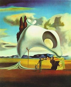 Atavistic Vestiges After the Rain - Dali Salvador Salvador Dali Oeuvre, Salvador Dali Kunst, Salvador Dali Paintings, Modern Surrealism, Spanish Artists, Art Moderne, Wassily Kandinsky, Surreal Art, Art History