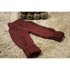 Knitted baby leggings