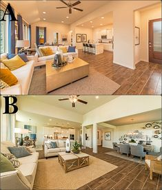 Which open concept living room do you like best!? Living Rooms, Living Spaces, Estate Law, New Homes For Sale, Model Homes, Open Concept, Real Estate Marketing, Dream Homes, Home Buying