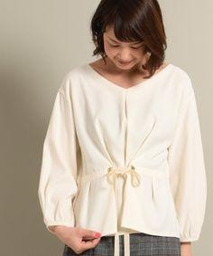 【ZOZOTOWN】Gready Brilliant(グレディブリリアン)のシャツ/ブラウス「ピーチ Fタックレースアップ9分袖」(KO420-25-4012)を購入できます。