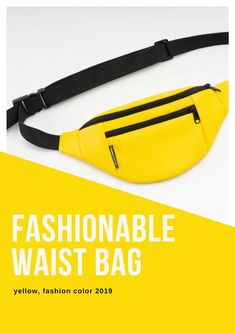 vegan yellow waist bag for men, women, teenagers for traveling and city walks Gym And Tonic, Yellow Belt, Leather Men, Leather Jackets, Shoulder Sling, Waist Pack, Little Bag, Hollywood Stars, Fanny Pack