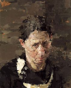 Contemporary Visions of Art: Ann Gale Abstract Portrait, Portrait Art, Portrait Paintings, Figure Painting, Painting & Drawing, Woman Painting, Expressionist Portraits, La Face, Photographs Of People