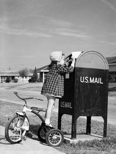 ~~The old fashioned mailbox~~