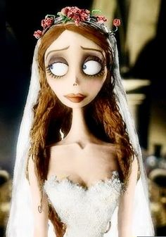 Emily; The Corpse Bride if she were alive