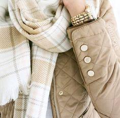 winter white + nude