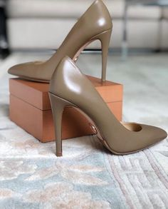 Uploaded by Zoé. Find images and videos on We Heart It - the app to get lost in what you love. Shoe Collection, We Heart It, Stiletto Heels, Lost, Image, Shoes, Fashion, Moda, Zapatos