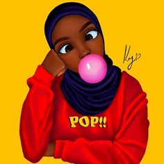 Something goofy ? oh and Yh commissions are open.if you want to get something done pls email or dm me(preferably email) and if you already sent one pls resend it again thank you ? Black Love Art, Black Girl Art, Black Is Beautiful, Black Girl Magic, Black Power, Drawings Of Black Girls, Black Hijab, Arte Van Gogh, Hijab Drawing