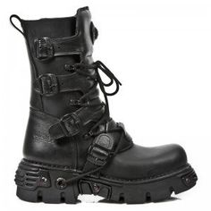All black NewRock boots!!! *drool*