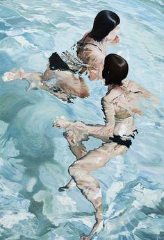 Las refrescantes pinturas del artista Josep Moncada.               — JOSEP MONCADA