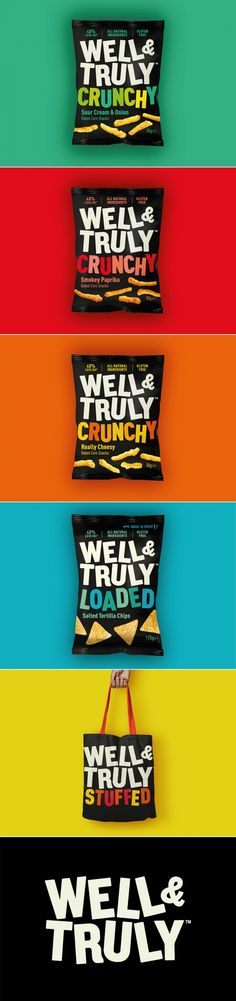 These Snacks Are Well&Truly Good For You — The Dieline   Packaging & Branding Design & Innovation News