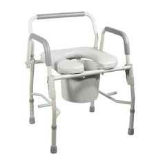 (click twice for updated pricing and more info) Drive Medical Drop Arm Commodes - Steel Drop Arm Bedside Commode with Padded Seat & Arms #commode_seat http://www.plainandsimpledeals.com/prod.php?node=38451=Drive_Medical_Drop_Arm_Commodes_-_Steel_Drop_Arm_Bedside_Commode_with_Padded_Seat_&_Arms_-_11125PSKD-1