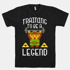 Training To Be A Legend | T-Shirts, Tank Tops, Sweatshirts and Hoodies | HUMAN