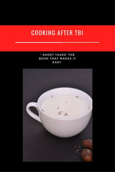"""Recipe in """"Short takes: making cooking simple"""" Brain Injury, Drinks, Cooking, Simple, Tableware, Easy, How To Make, Recipes, Drinking"""