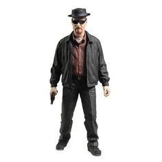 Heisenberg Red Shirt Variant Exclusive Action Figure 15cm Mezco BREAKING BAD