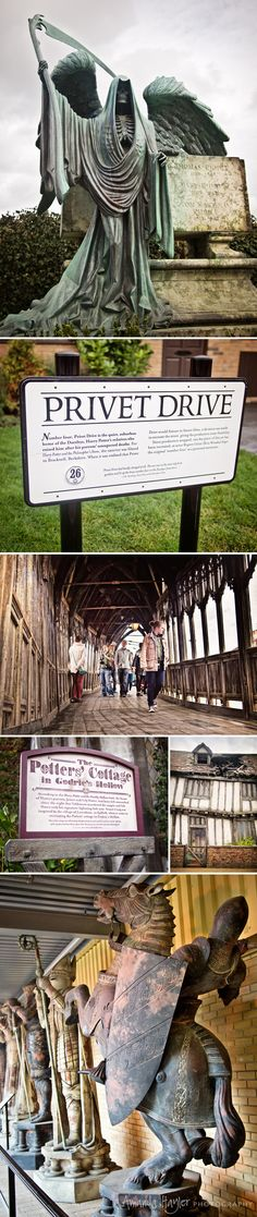Harry Potter sets and locations you can actually visit! ---- seriously on my bucket list