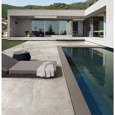 carrelage extrieur effet pierre bton 455x91 grigio out patchwalk ascot - Bton Color Extrieur Prix