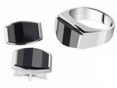 pánske prstene (luxusné, exkluzívne - titán, wolfrám, oceľ a striebro) Titanic, Lapis Lazuli, Dog Bowls, Rings