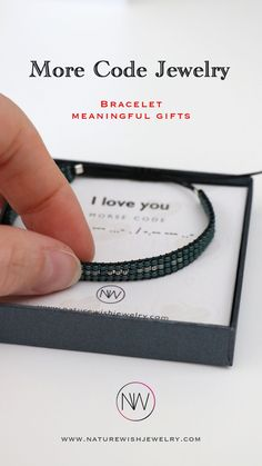 While these bracelets are one size fits all, they are adjustable to fit just right. Only the highest quality beads and materials are used to provide a look and feel that is at once comfortable and exciting. And what appears simply to be design elements turns out to be hidden messages in Morse code. #morsecodebracelet #morsecodejewelry #meaningfulgift Be Design, Design Elements, Beaded Wrap Bracelets, Jewelry Bracelets, More Code, Presents For Your Boyfriend, Morse Code Bracelet, Meaningful Gifts, Bracelet Making