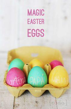 Magic Easter Eggs #DIY