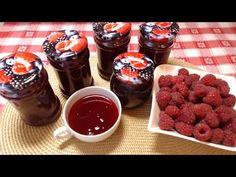 Domowy Syrop Malinowy Chocolate Fondue, Preserves, Raspberry, Canning, Fruit, Desserts, Diy Ideas, Youtube, Blog