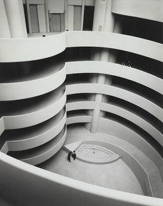 """""""The Guggenheim, Almost Empty, c. 1959 — Ezra Stoller"""""""
