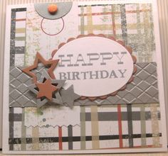 MISSY G DESIGNS: Cardmaking Class Three - Men's Cards