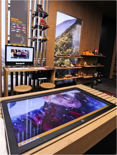 Timberland Launches New Interactive Retail Concept Using Digital Signage Touchscreens