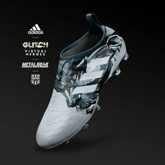Spektakuläre adidas Glitch Virtual Heroes Metal Gear Solid – Abbey Shannon – Join the world of pin Adidas Soccer Boots, Adidas Cleats, Adidas Football, Soccer Shoes, Cool Football Boots, Football Shoes, Football Kits, Football Cleats, Soccer Gear