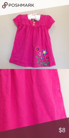 CARTER'S 9m Dress Pretty soft cotton baby girl dress. Good used condition-some pilling Carter's Dresses Casual