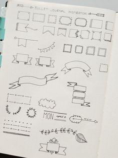 ideas for bullet journal