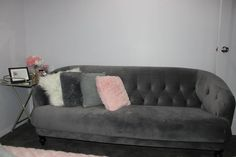 Dove Grey couch brought from Early Settler