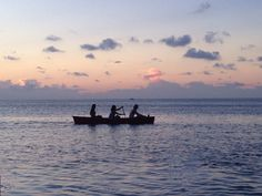 #tramonto in un' #isola dei #Caraibi in #Belize, a #CayeCaulker