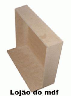 Cenário mdf retangular-COD:CEN002-Tamanho:30x10x20cm BR$13,50