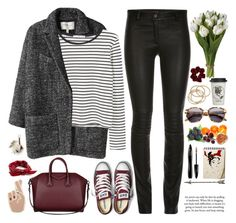 """""""2539. Great things never came from. comfort zones."""" by chocolatepumma ❤ liked on Polyvore featuring Étoile Isabel Marant, MANGO, ElleSD, Converse, Givenchy, Alexander Wang, ABS by Allen Schwartz, Natural Life, ASOS and Lancôme"""