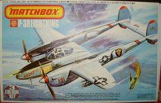 Matchbox Lockheed P-38 Lightning 1/72 Boxed Kit
