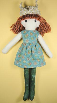 Stuffed cloth rag doll