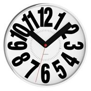 Bold White Clock-fathers-day-gifts-RAPT GIFTS ONLINE