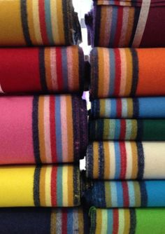 8 band American Broadcloth. We carry every color currently on the line. $85.00 per yard unless you purchase three or more yards of the same color and a discount is given for $75.00 per yard. Don't forget to visit our website at www.sharpsindianstore.com for all of your ready made regalia and Native American supply needs.
