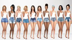 Some Of My Favorite Denim Shorts  [xxx] -... - Immortalsims